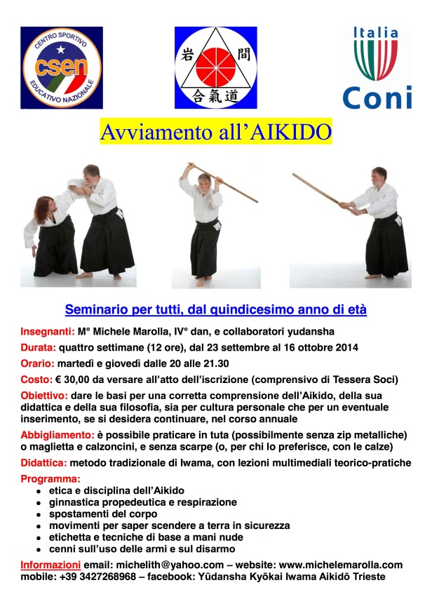Avviamento all'Aikido