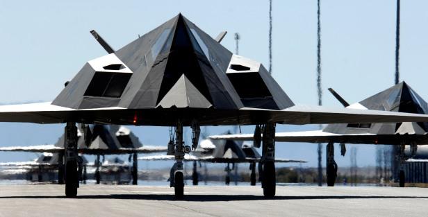 L'F-117 Nighthawk.