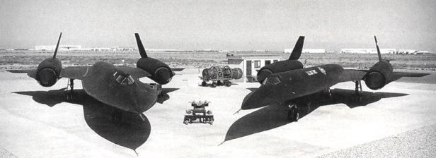 Uno degli sviluppi del progetto Oxcart: l'SR-71 Blackbird.