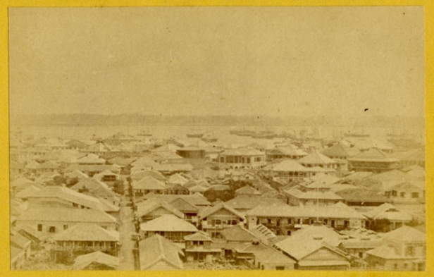 Centro di Yokohama (Fototeca dei Civici Musei di Storia ed Arte di Trieste - inventario 190898)
