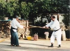 Tristao Da Cunha assieme a Saito Morihiro Shihan
