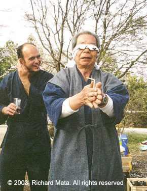 Tristao Da Cunha asieme a Saito Morihiro Shihan.