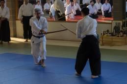 Aikiken: ancora Yasuhiro Saito Sensei assieme a Stefano Di Carlo.