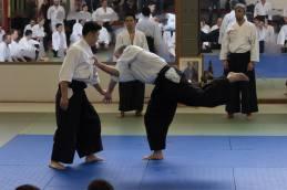 Taijutsu: munadori jujinage.
