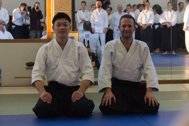 Yasuhiro Saito Sensei assieme a Ivàn Castilla Lopez.