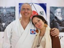 Alessandro Tittarelli assieme alla figlia Francesca
