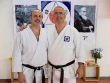 Alessandro Tittarelli Shihan assieme a Danilo Di Teodoro Jun-Shihan