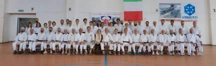 Ancona, 13 marzo 2016: foto di gruppo con tutti i partecipanti fisicamente presenti