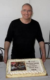 Il Maestro Tittarelli con la torta