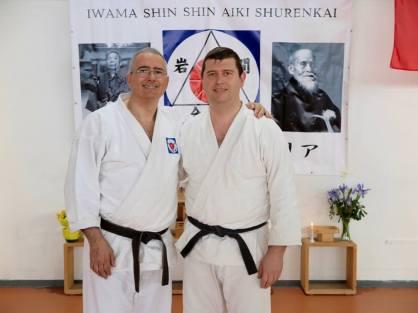 Alessandro Tittarelli Shihan assieme a Roman Zhasuhev
