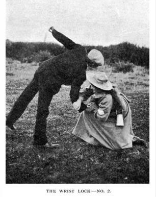 Esempio di tecnica per suffragette