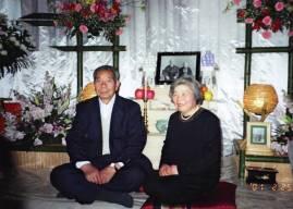 Morihiro e Sata Saito, 25 febbraio 2001