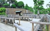 Le tombe dei 47 Ronin all'interno del complesso Sengakuji.