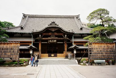 Il tempio Sengakuji a Tokyo