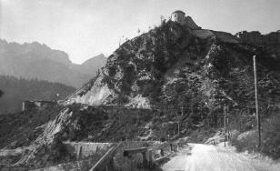 Fort Hensel ripreso durante la Prima Guerra Mondiale.