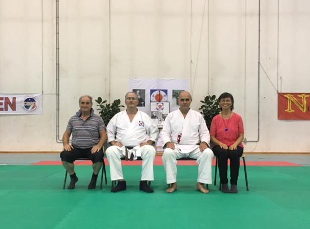 Guerrino Spada e Sonoko Tanaka