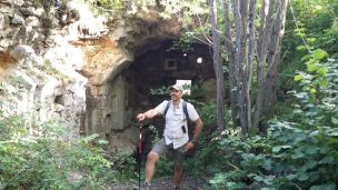12/08/2017 - Dettaglio delle rovine dei locali interni del Blocco B.
