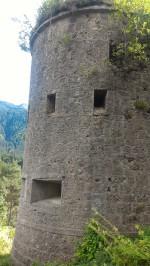 12/08/2017 - Il bastione del Blocco B in direzione Tarvisio.