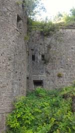 12/08/2017 - Il bastione del Blocco B in direzione Tarvisio, dettaglio.