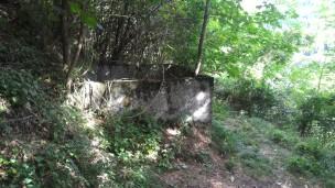 12/08/2017 - La cisterna [Zisterne] lungo la salita al Blocco A