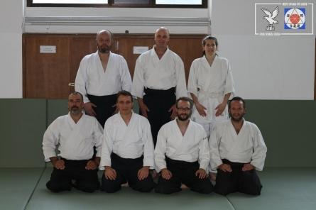 I partecipanti al Ronin Club keiko del 13 ottobre 2018.